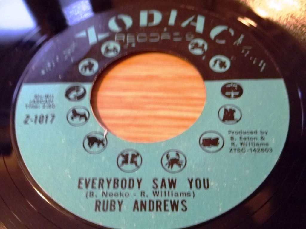 Ruby Andrews Everybody Saw You Can You Get Away